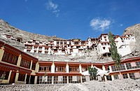 Rizong Gompa, buddhist monastery, in Ladakh, India