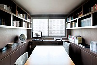 Interior design of study room
