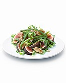 Fig and green bean salad.