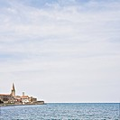 Town of Rovinj and Bay of Rovinj.