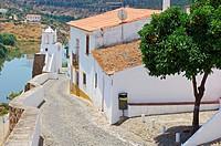 Mertola, Old Moorish quarter, Guadiana river, Baixo Alentejo, Portugal, Europe.