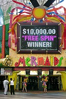 freemont street, Las Vegas, Nevada, USA