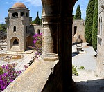 The Filerimos Monastery Island of Rhodes Greece