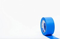 Roll of blue masking tape