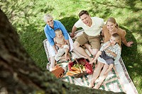Family on a picnic (thumbnail)
