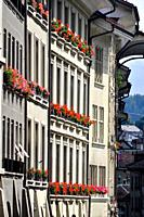 Bern (Switzerland): houses in the city's center