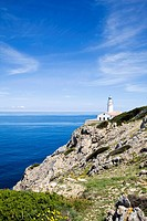 Lighthouse on Mediterranean Coast
