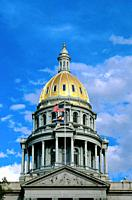 Colorado state capitol building, Denver, CO, USA