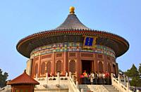 China, Beijing: Temple of Heaven, hall of prayers for the harvest