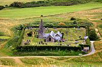Saint Enodoc Church, Polzeath, Cornwall
