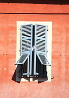 Shuttered Window, Nice, Cote d'Azur, France