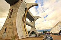 The Falkirk Wheel in Scotland