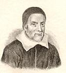 William Oughtred, 1574 to 1660  English mathematician  From Crabb's Historical Dictionary published 1825