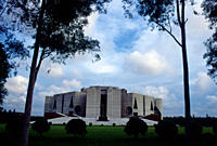 The House of Parliament or Sangsad Bhaban in Bangladesh is considered to be one of the finest examples of modern architecture Designed by Louis I Kahn...