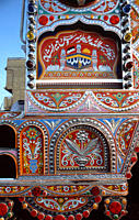 Body fitting, a hall mark folk art of Pakistan, has turned its village lanes, city streets and long distance highways into a national gallery without ...