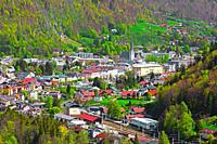 The spa town of Bad Ischl is a town in the Salzkammergut region in Upper Austria