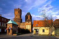 Europe, Germany, Saxony_Anhalt, Tangermuende, Neustaedter gate