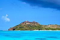 Necker Island  The Virgin Island home of Sir Richard Branson  Image by Shaun Higson