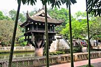 One Pillar Pagoda, Ba Dinh Quarter, Hanoi, Vietnam