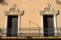 Modernist style balcony  Melilla Spain