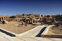 Al_Bagawat Christian cemetery at Kharga Oasis, Libyan Desert, Egypt