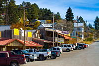 Western Bar, Cloudcroft, New Mexico, United States of America, North America