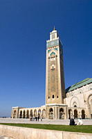 Hassan II Mosque, Casablanca, Morocco, North Africa, Africa