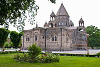 Echmiadzin Echmiatsin, UNESCO World Heritage Site, Armenia, Caucasus, Central Asia, Asia