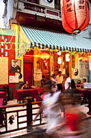 Chinese restaurant in Havana´s Chinatown, Barrio Chino, Havana, Cuba, West Indies, Central America
