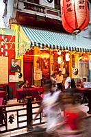 Chinese restaurant in Havana´s Chinatown, Barrio Chino, Havana, Cuba, West Indies, Central America