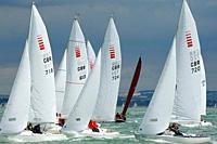Yachts Racing at Skandia Cowes Week 2008