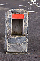 Safe box for emergency supplies, no longer in use Deception Island, an island in the South Shetland Islands off the Antarctic Peninsula which has one ...