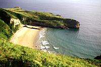 Coastline near Andrin Asturias North Spain