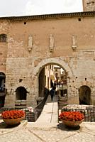 Porta Consolare at Spello in Umbria