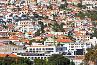 Views from Funchal, Madeira, Portugal Funchal is the capital of the Madeira Islands of Portugal Funchal is also the largest city on the islands and wi...
