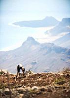 """04/04/2009 Cape Verde, Cabo Verde, S""""o Vicente, Mindelo, Monte VerdeSao Pedro, View from Monte Verde Mindelo, Mt Verde, Sao Vicente Island Cape Verde ..."""