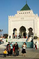 Rabat (Morocco): the Mohammed V Mausoleum