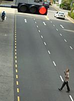 Street scene in Singapore