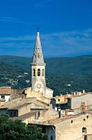 Church tower, St Saturnin-les-Apt, Provence, France