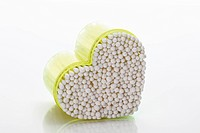 Heart_shaped container with cotton swabs