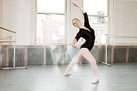 Ballerina in pose