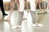 Legs of ballerinas