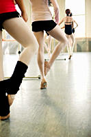 Ballet class