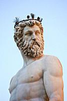 Statue of Neptune, Piazza della Signoria, Florence, Italy
