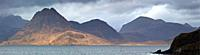 The Southern Arc of The Cuillen Mountains from Elgol, Isle of Skye, Scotland