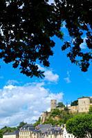 Chinon Castle, Chinon, Indre-et-Loire, Loire Valley, France