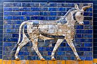 Relief from Ishtar Gate, Archeology Museum, Babylon, Istanbul, Turkey