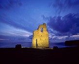 Ballybunion Castle, County Kerry, Ireland & Virgin, Rock