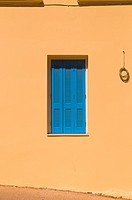 Window shutters in Crete Greece