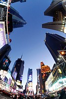 New York City , Times square manhattan